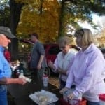 Federation wives and families combine forces to feed hungry anglers