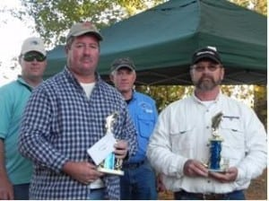 1st Place Monte Aleman and Audie Murphy 21.50 lbs.